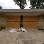 Garage Door Repair Tulsa 2 Single Garage Doors To One Before