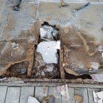 Garage Door Repair Tulsa Residential French Door Install With Severe Floor Damage 1
