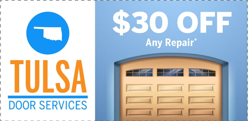 Tulsa Door Services Promotions Coupons 30 Dollars Off General Repair